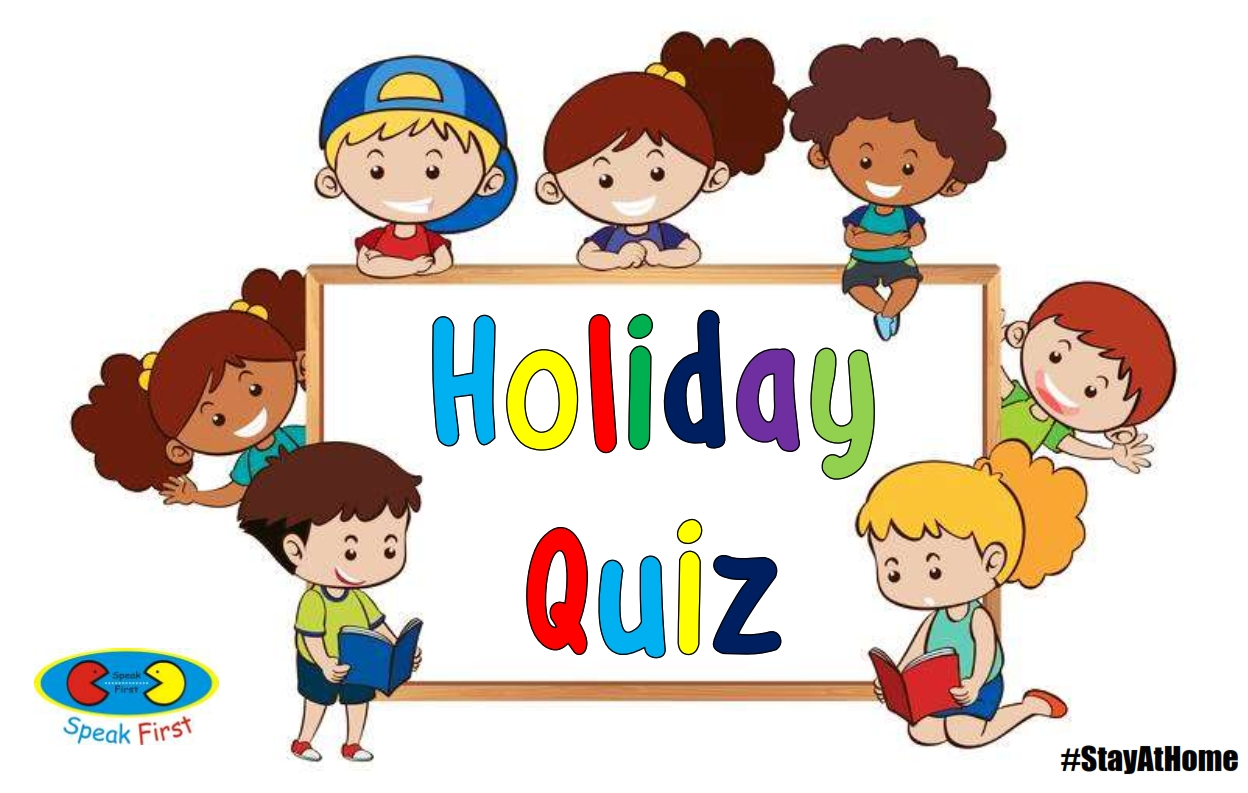 English Course; Kids A 5 Online Holiday Quiz Part 3