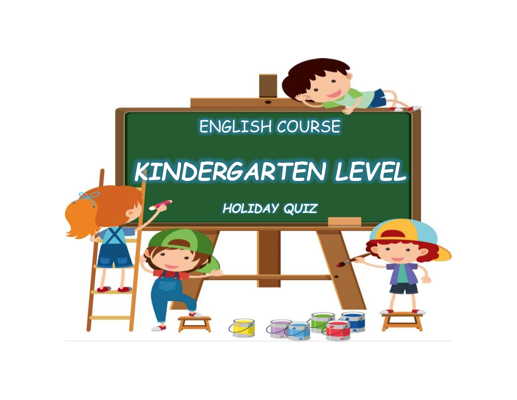 English Course Kindergarten Level Games